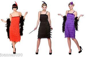 CHARLESTON-1920s-20s-JAZZY-FLAPPER-FRINGE-FRINGED-GATSBY-FANCY-DRESS-COSTUME