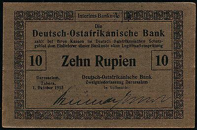 Ro.912a 10 Rupien 1915 (1)