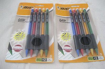 Bic Matic Grip Mechanical Pencils Two Packs Of Ten Pencils