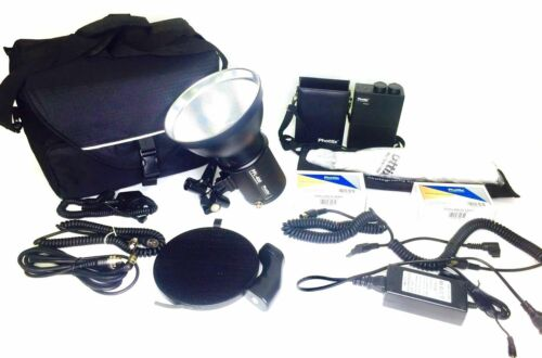 **Phottix PPL-400 Battery Powered Studio Portable Strobe Light Bundle with Bag