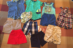 Baby boys size 12 month Summer clothes Lot # 1
