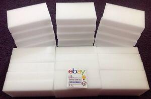 30 BULK PACK Magic Sponge Eraser Melamine Foam Cleaning 3/4