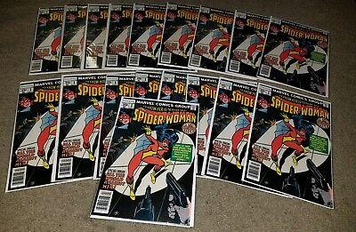 Marvel Comics Spider-woman 1 NM App Bronze 4/78 key solo series Origin book HG