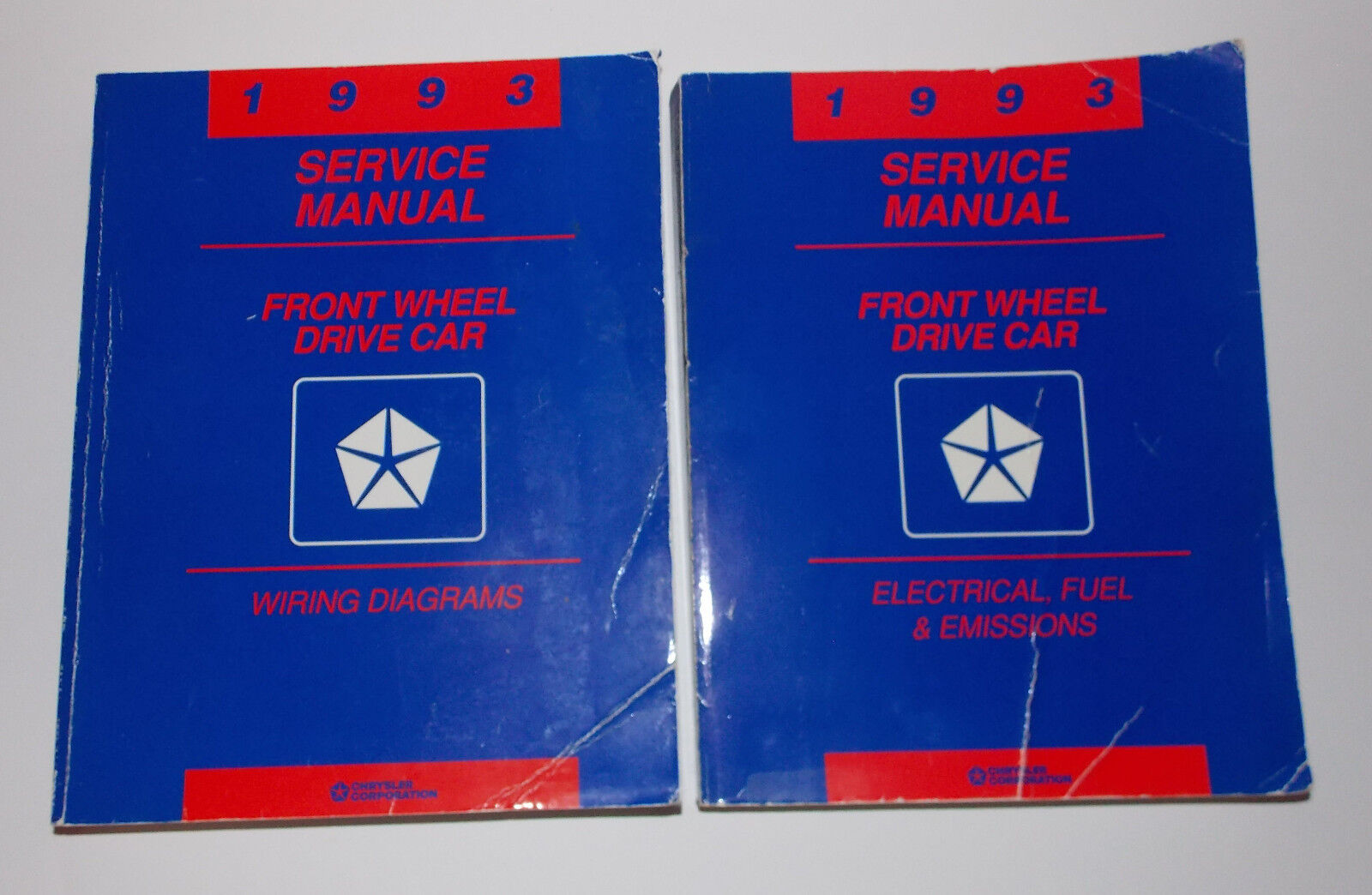 1993 Chrysler Front Wheel Drive Car Manuals Wiring Diagrams Electrical Emissions