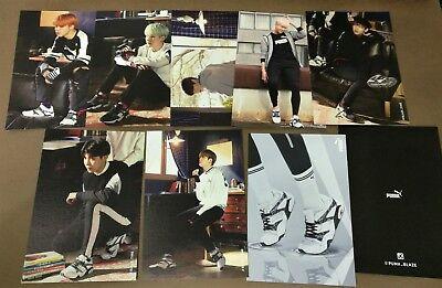 [Official] BTS PUMA BLAZE Photocard  Double sided Full SET