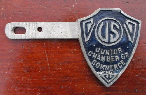 Vintage Tag Topper - US JUNIOR CHAMBER OF COMMERCE - JAYCEES, Biloxi, Ms.