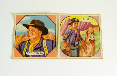 Rin Tin Tin Patch Sticker Rusty Sgt. O