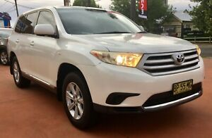 2012 Toyota Kluger KX-R 7 Seater Wagon 5sp AWD 3.5i Richmond Hawkesbury Area Preview