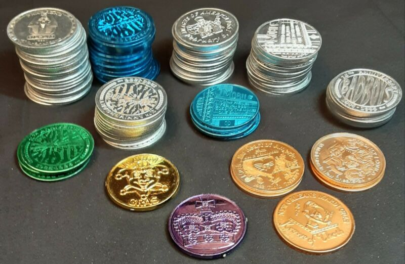 LOT 109 Mardi Gras Coins of Pharaohs Mobile, AL - New Orleans Krewe Of Thoth