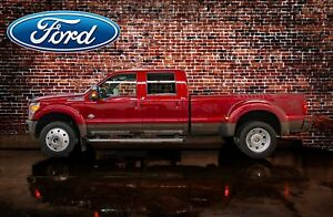 2016 Ford F-450 4x4 Crew Cab King Ranch Dually Diesel