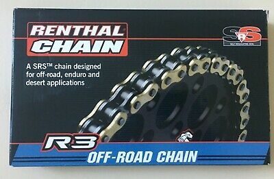 Renthal Gold 520 R3 SrS O-Ring Offroad Chain 520-114 Links (C413)
