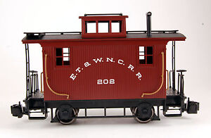 Bachmann-G-Scale-Train-1-22-5-Caboose-ET-WNC-93120
