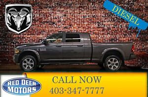 2018 Ram 3500 4x4 Mega Cab Laramie Diesel Leather Roof Nav
