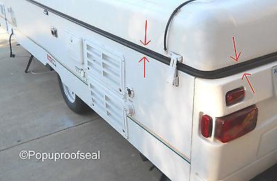 1996-2003 COLEMAN FLEETWOOD ABS ROOF SEAL 41' RUBBER GASKET POPUP TENT TRAILER