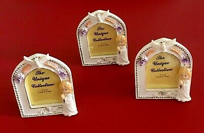 Lot 3 Holly Communion Photo Frame Girls Picture Frame Gift  ()