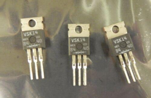 Microsemi  VSK14  Ctr Tapped 12A Schottky Rectifier 10Pcs New.