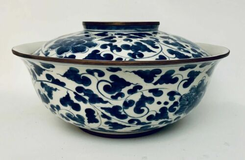 Chinese Porcelain Rice Bowl Qing Dynasty / Shunzhi Mark / Xuantong Period