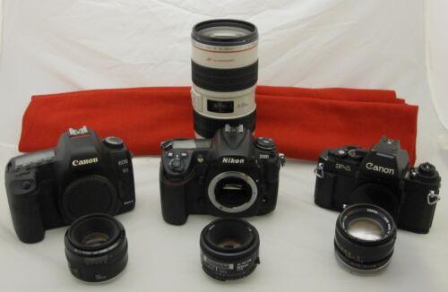 Almost free! Camera repair estimate  Nikon, Canon, Pentax, Minolta, Lets talk...