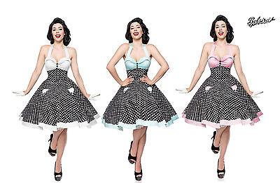50er Jahre Pin Up Vintage Rockabilly Kleid Tanzkleid exklusive Petticoat Rock (50er Jahre Pin Up Kleid)