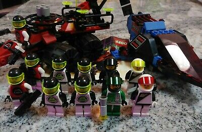 Vintage Lego Space Police Lot Galactic Peacekeeper, Celestial Forager + Minis