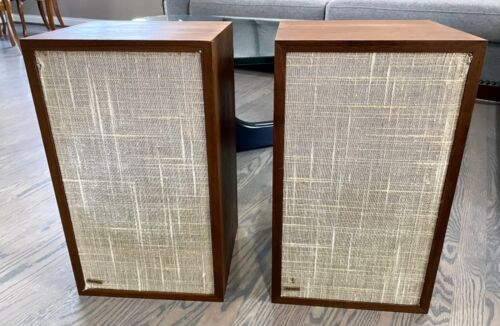 Excellent Classic Dynaco A25 Speakers that Sound Great, Very Nice Cabinets