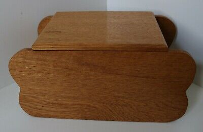 VINTAGE WOODEN JEWELLERY BOX / HAND MADE TRINKET ANTIQUE CHEST & TRAYS 1960'S 44