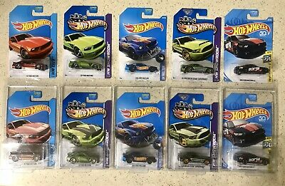 MUSTANG HOT WHEELS SUPER TREASURE HUNT & MAINLINE LOT