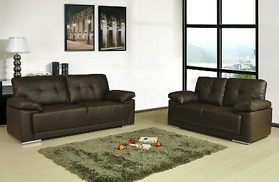 Sienna Leather Sofa Couches Black Brown Cream Sofa Set Suite 2 Piece Suite Couch