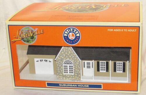 Lionel Lionelville Deluxe Fieldstone Suburban House 6-34111