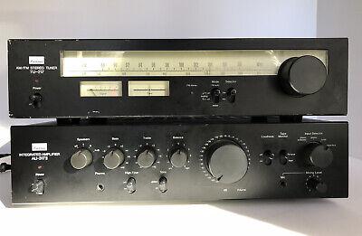 Sansui Integrated Amplifier AU-317 II and Sansui Tuner TU-217