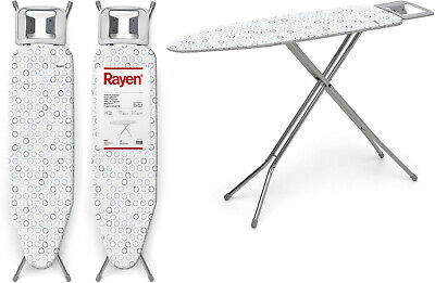 Tabla mesa de Planchar plegable 113x34 cm,funda,altura regulable,antideslizante