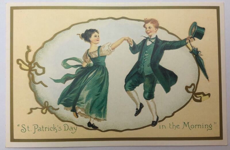 Vintage Post Card St Patty Day