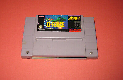 D-Force (Super Nintendo Entertainment System, 1991) Free Shipping!!