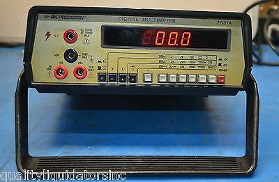Bk Precision Digital Multimeter 2831a