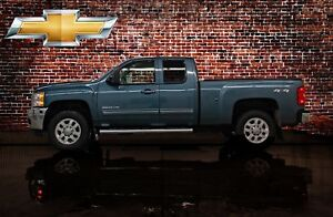 2011 Chevrolet SILVERADO 2500HD 4x4 Ext Cab LTZ Diesel Leather B