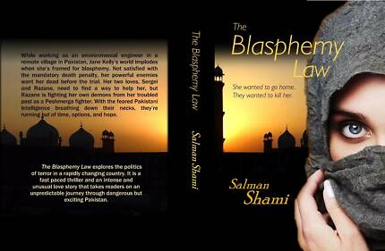 The Blasphemy Law - personally signed by the author