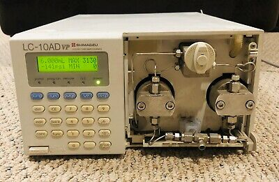 Shimadzu Lc-10ad Vp Hplc Liquid Chromatograph Pump 228-39000-92