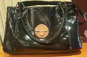 Black & Rosegold Leather  Lucid Turnlock Worker Bag Salisbury East Salisbury Area Preview
