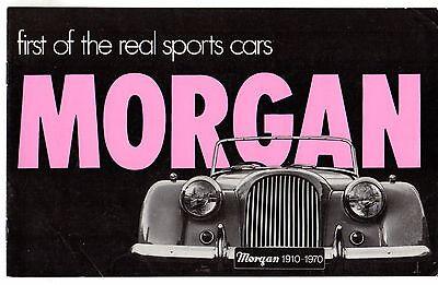 Morgan 4/4 1600 & Plus 8 1970 UK Market Sales Brochure
