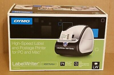 Dymo High-speed Label And Postage Printer Label Writer For Pc And Mac 450 Turbo