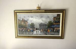 """Large Imported Italian """"Oil Canvas Art"""" LARGE 1.5m Sylvania Sutherland Area Preview"""