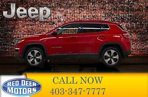 2018 Jeep Compass 4x4 North Edition Leather Roof