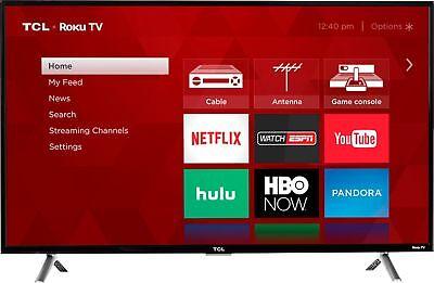 "TCL - 49"" Class - LED - 4 Series - 2160p - Smart - 4K UHD TV with HDR Roku TV"