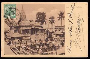 INDIA-CALCUTTA-PC-JAIN-TEMPLE-FP-VG-1919