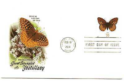 4859 70C GREAT SPANGLED FRITILLARY BUTTERFLY, ARTCRAFT FDC