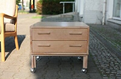 TRUE VINTAGE coffee table TISCH FM NEW FURNITURE Kai Kristiansen 60er