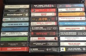 Assorted Audio Cassette tapes - 1/$3 or 2/$5
