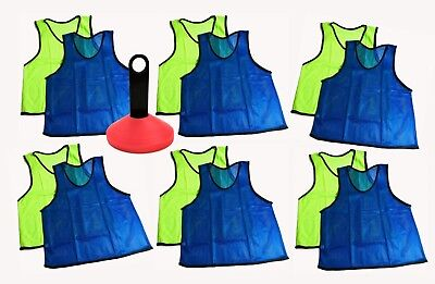 2 pks of 4 Pinnies 8 Franklin Scrimmage Vest Pinnies-Youth Size-All Purpose