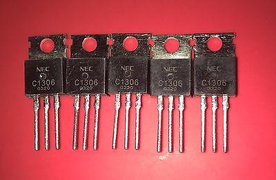5 Pcs Lot 2sc1306 C1306 Rf Power Replacement Transistors Original Nec