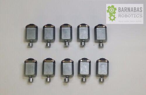 10 x DC 1.5-3V Electric Mini Vibrating Vibration 130 Size Motor 12800RPM ArtBot